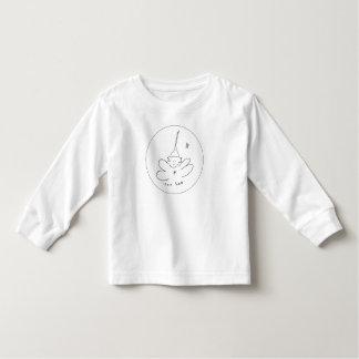 T longo da luva t-shirt