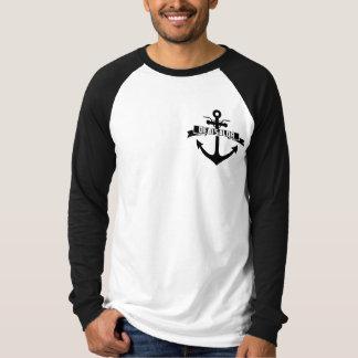 T longo inoperante da luva do marinheiro (2015 t-shirts