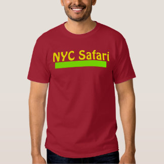 T marrom do safari de NYC Tshirt