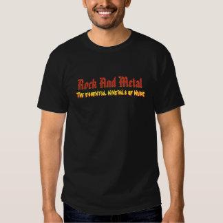 T No.1 da rocha e do metal Camisetas