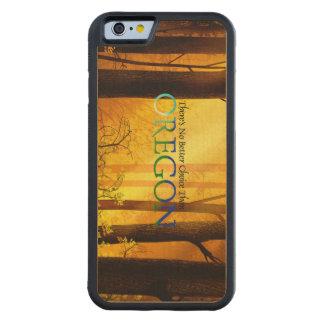 T Oregon Capa De Madeira De Bordo Bumper Para iPhone 6