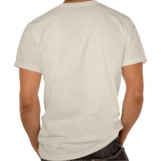 T orgânico do CURSO T-shirts