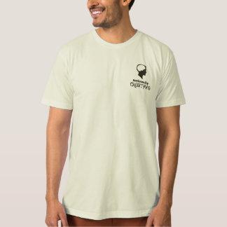T orgânico racional criativo t-shirts