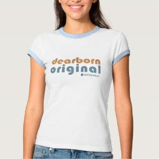 T original da campainha das senhoras de Dearborn Camisetas