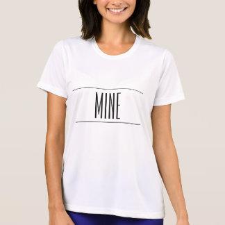 T para sempre impresso da mina t-shirts