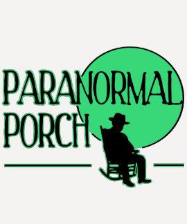 T Paranormal do basebol do patamar com logotipo T-shirt