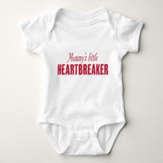 T pequeno do dia dos namorados do Heartbreaker da Body Para Bebê