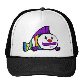 T real do gráfico de Clownfish do arco-íris de Boné