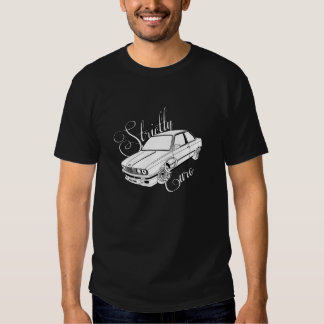 T restrita euro- de BMW E30 Camiseta