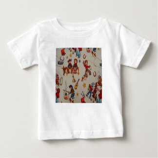 T retro do bebê do vaqueiro t-shirt