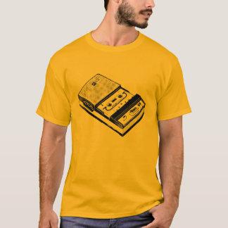 T retro do gravador da ilustração camiseta