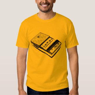 T retro do gravador da ilustração tshirts