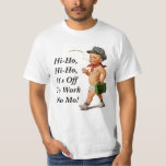 T retro do presente da aposentadoria do vintage do camisetas