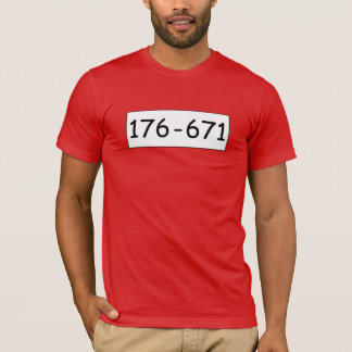 T-shirt 176-671 do menino do lebreiro camiseta