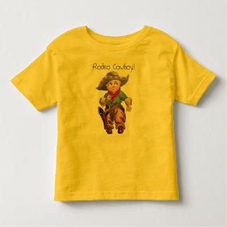 T-shirt 1912 ocidental da criança do vaqueiro de