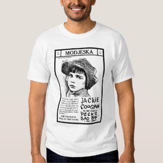 T-shirt 1921 do anúncio do filme do vintage de