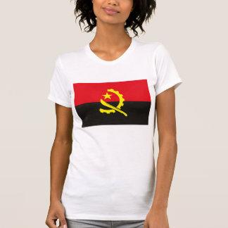 T-shirt 1975 da bandeira de Angola Camiseta