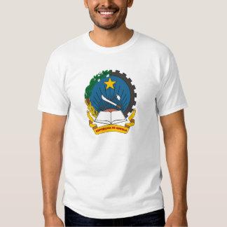 T-shirt 1992 da brasão de Angola