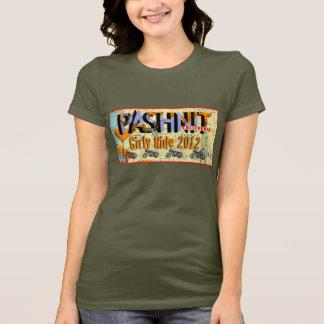 T-shirt 2012 feminino do passeio de Pashnit Camiseta