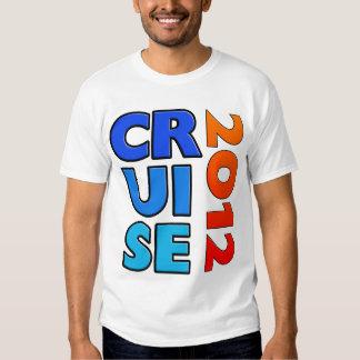 T-shirt 2012 - parte traseira do cruzeiro do