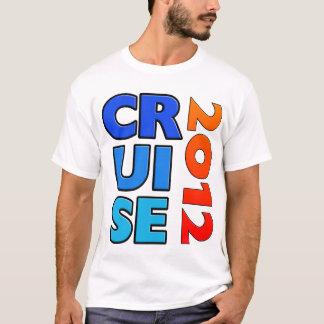 T-shirt 2012 - parte traseira do cruzeiro do camiseta