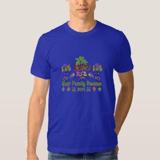T-shirt 2014 da reunião do Blair dos homens