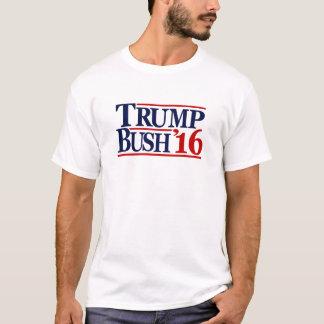 T-shirt 2016 de Bush do trunfo Camiseta