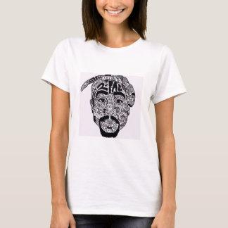 t-shirt 2pac camiseta