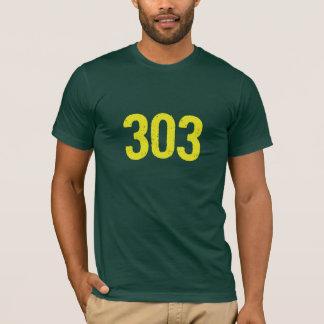 T-shirt 303 camiseta