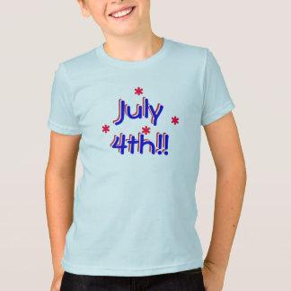 t-shirt - 4 de julho (miúdos) camiseta