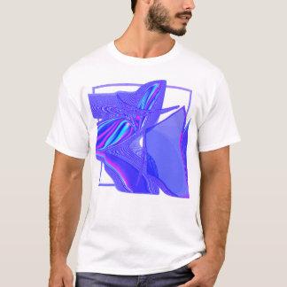T-shirt abstrato da arte moderna