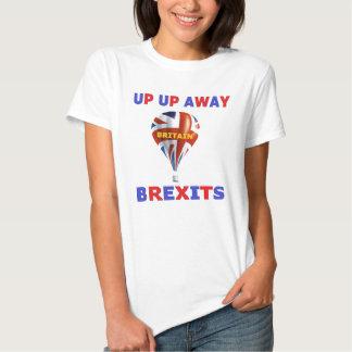 T-shirt acima acima de Grâ Bretanha ausente