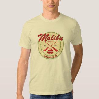 T-shirt afligido clube de ondulação de Malibu