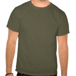 T-shirt alaranjado preto do teste padrão de