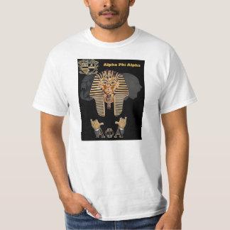 T-shirt alfa do faraó da phi alfa alfa alfa da phi