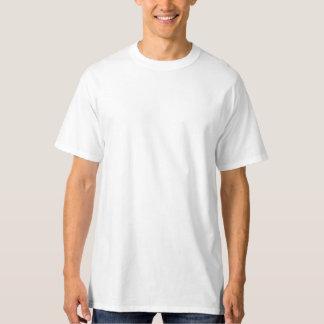 T-shirt alto do Hanes dos homens, branco Camiseta