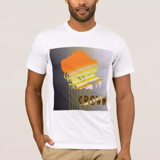T-shirt americano básico do roupa camiseta
