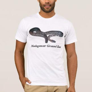 T-shirt americano básico do roupa de Madagascar