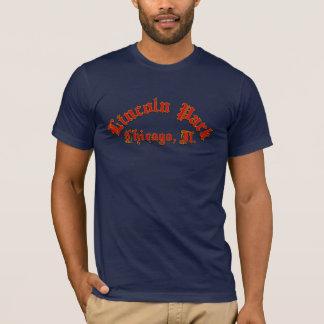 T-shirt americano básico do roupa dos homens de camiseta