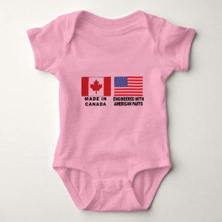 T-shirt americano canadense