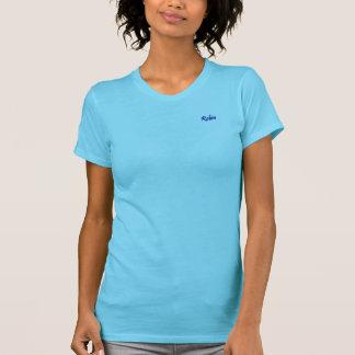 T-shirt americano do jérsei da multa do roupa do camiseta