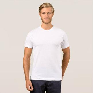 T-shirt americano do Poli-Algodão do roupa dos Camiseta