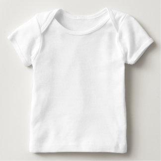 T-shirt americano do regaço do roupa do bebê camiseta para bebê
