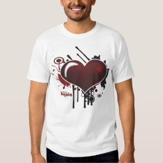 T-shirt - amo-te Angola - Coração Radical