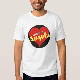 T-shirt Amo-te Angola - Filho da patria