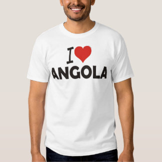 T-shirt - amo-te Angola - I love