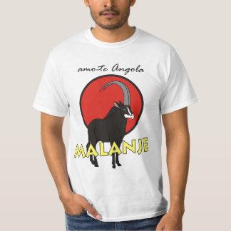 T-shirt - amo-te Angola - Malanje Camiseta