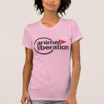 T-shirt animal da libertação