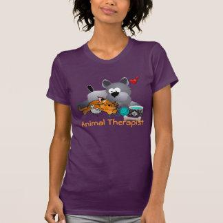 T-shirt animal do terapeuta