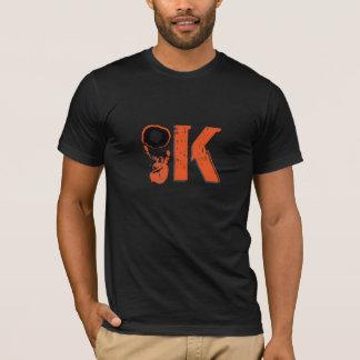 T-shirt APROVADO do sinal da mão do rock and roll Camiseta